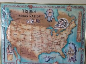 Map of the Native American Tribes.