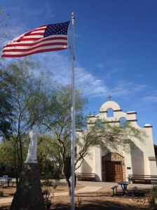 St. Peter's Mission Church in Bapchule, AZ.