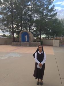 Hna. Leonora at St. Daniel Parish Convent