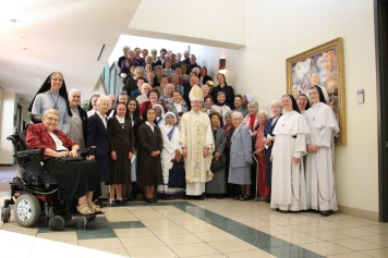 Bishop Olmsted and Religious of Phoenix November 15, 2014