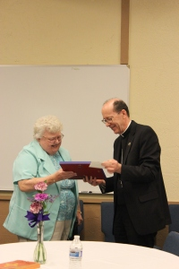 Bishop Olmsted honors Sr Jovanna Stein, OP, celebrating 60th Anniversary
