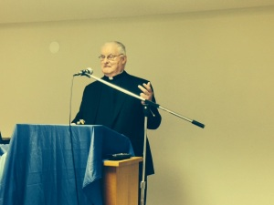Fr Frank Morrissey, OMI, a canonist, spoke about relevant issues with great practical advice.