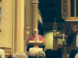 Fr. Hank Lemoncelli celebrated the Mass.