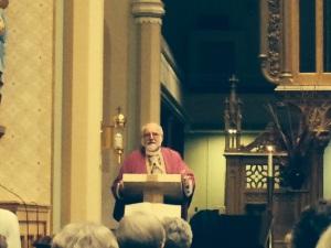 Fr. Hank Lemoncelli celebrated the Mass.
