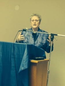 Sister Karen Elliott gave an inspiring talk about the gift of Consecrated Life.