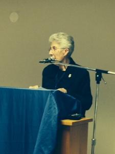 Sr. Nancy Mathias, OSU, President of NCVR