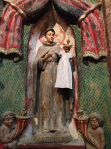 St. Anthony of Padua with the Christ Child.