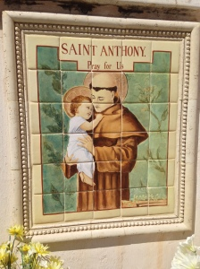 The Franciscans took over this Missions in the 1800s.  St. Anthony, my patron, beckons you to come for a visit.