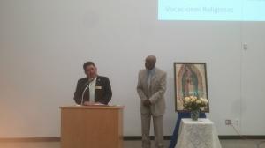 West Side President, Eddie Boss (right) and Tom Castellanos (left)