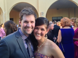 Mallory and Gerard Smyth, FOCUS Missionaries that are newly-wed!