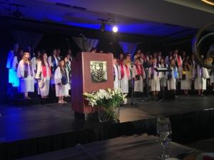 A choir that sang like angels!