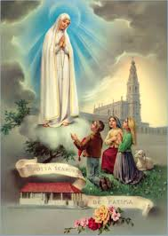 Our Lady appeared to three young children in Fatima, Portugal (1917).