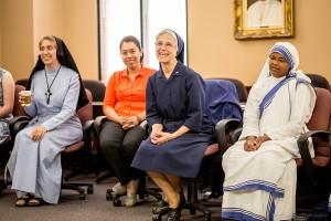 Sister Cabrini Thomas, DC gave a great testimony.