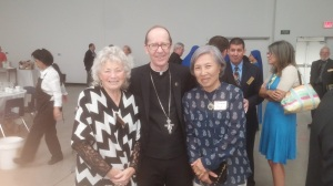 with Bishop Olmsted