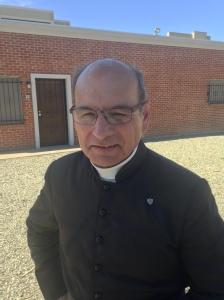 Fr. Joseph Terra, FSSP - survived violent beating at Mater Misericordiae Mission on June 12, 2014.