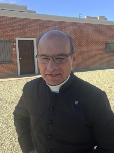 Fr. Joseph Terra, FSSP - survived violent beating at Mater Misericordiae Mission on June 12, 2014.