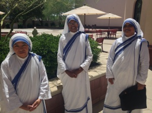 Sr. Sabina Grace, MC (on the right)