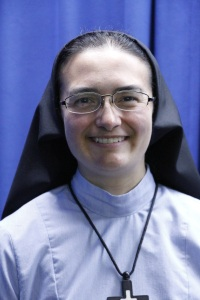 Sister Maria Crucis Garcia, RSM (Mary of the Cross in Latin)