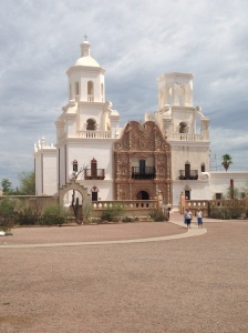 The White Dove of the Desert:  San Xavier Mission