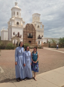 Sister Anthony Mary, Sister Maria Crucis and her goddaughter