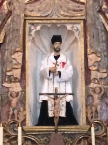 Saint Francis Xavier, S.J. was a contemporary of Saint Ignatius of Loyola.