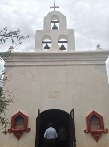 Entrance to the Chapel of Our Lady of Sorrows