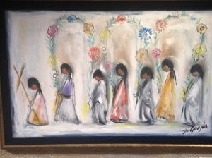 Children in a Procession