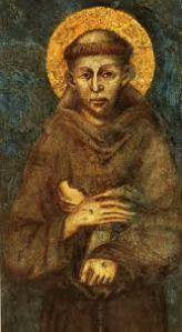 Fresco of St. Francis of Assisi