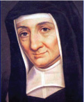 St. Louis de Marillac who received the miraculous medal from Our Blessed Mother.