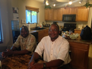 Fr. William and Fr. John are both from Uganda.
