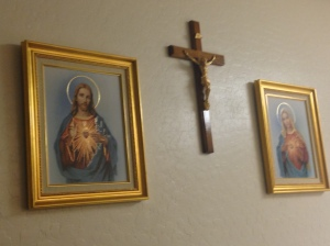 They are devoted to the Sacred Heart of Jesus and the Immaculate Heart of Mary.