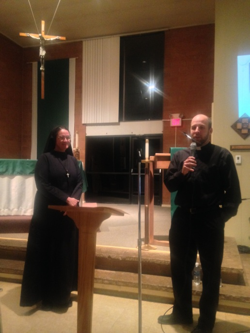 Sister Mary Katerina and Fr. Matt Lowry 2