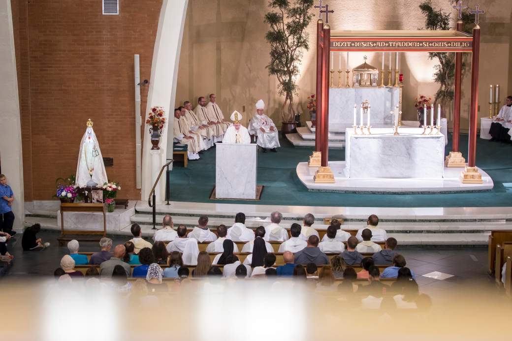 Consecration of the Diocese to the Immaculate Heart of Mary