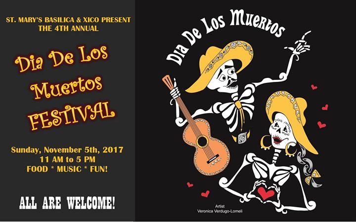 El Dia De Los Muertos Festival at St. Mary's Basilica