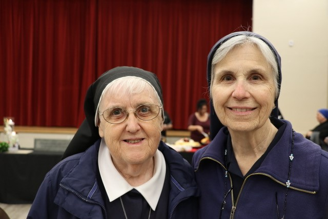 Sr. Margery and Sr. Cabrini