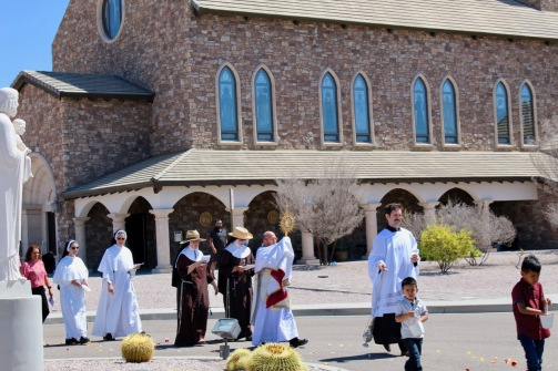 Celebrating 15 years of the foundation of the Monastery