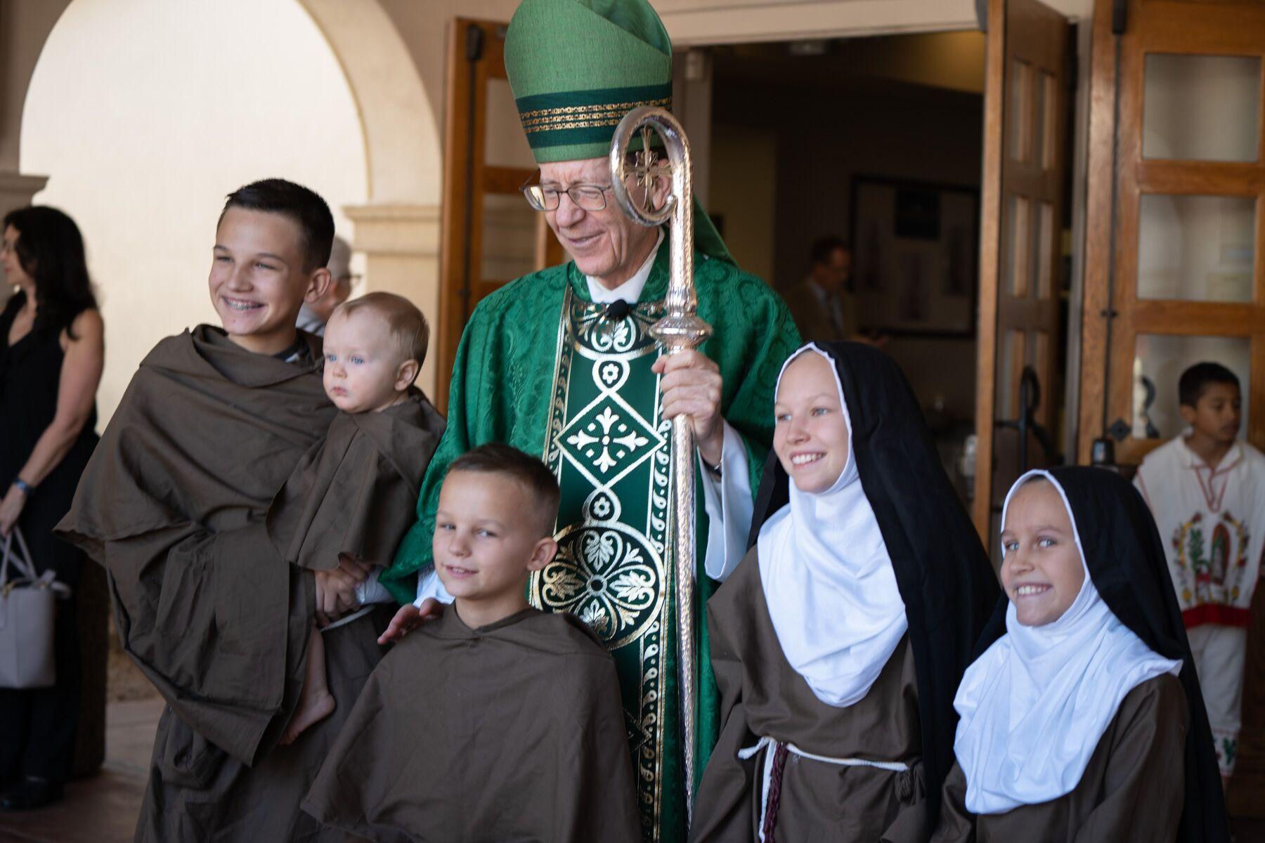 Bishop with the Zucks
