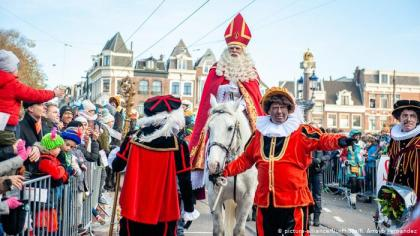 Procession on Sinterklaas Day in Holland