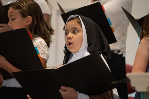 St. Therese in the Choir