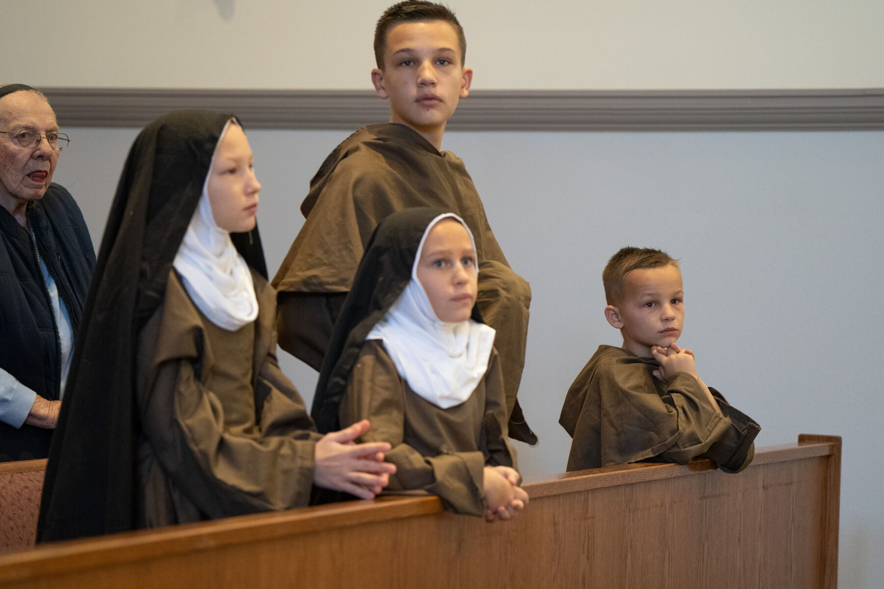 The Zucks as Franciscans